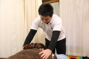 梅田駅徒歩圏内中津だるま整骨院の交通事故治療写真