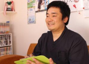 梅田駅徒歩圏内中津だるま整骨院のスポーツ整体マッサージの問診写真
